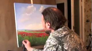 "getlinkyoutube.com-LIBERO! Full video ""campo di papaveri"" dal artista Igor Sakharov"
