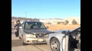 getlinkyoutube.com-Car crash in America vs Kurdistan ( Shlovan & Peshawa )