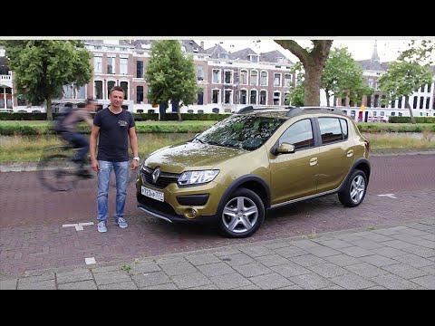 Тест-драйв Renault Logan и Renault Sandero Stepway с роботом/Renault AT Gear Test