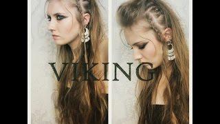 getlinkyoutube.com-VIKING INSPIRED HAIR & MAKEUP