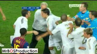 getlinkyoutube.com-Big Fight Between ( Barcelona vs Real Madrid ) Players (HQ)