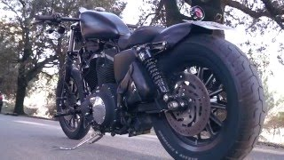 Harley davidson iron 883 bobber
