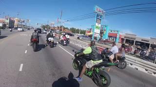getlinkyoutube.com-Black Bike Week 2016 - (Riding To Atlantic Beach)