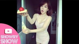 getlinkyoutube.com-쇼리의 섹시하고 끈적이는 샌드위치 만들기 Sexy Making Sandwich