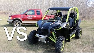 getlinkyoutube.com-Maverick XDS Turbo vs Truck