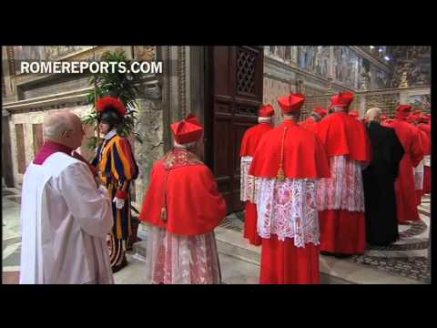 Cardinal electors vow to keep conclave proceedings secret