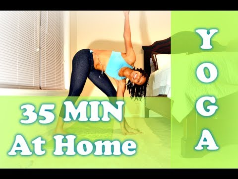 35Min At Home Heart Pump Yoga Fitness Flow I HangTight with MarC