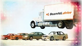 BeamNg.drive BIG Crashes Compilation ,Crash Tests, Fails, Stunts #2