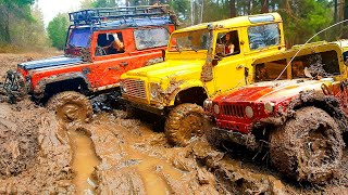 getlinkyoutube.com-RC Trophy - mud diggers - визги и брызги :)