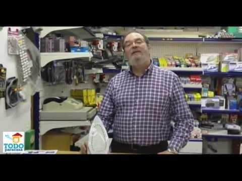 Como limpiar la suela de la plancha - Videoconsejo