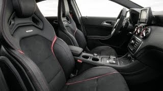 getlinkyoutube.com-Mercedes A45 AMG - Interior View