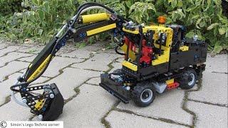 getlinkyoutube.com-Lego Technic 42053 [Full Motorized]