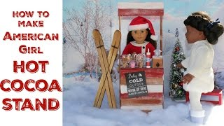 getlinkyoutube.com-Cocoa Doll Stand | DIY American Girl Doll Crafts