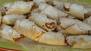 getlinkyoutube.com-Apfeltaschen-Türkische Rezepte-Elmali kurabiye