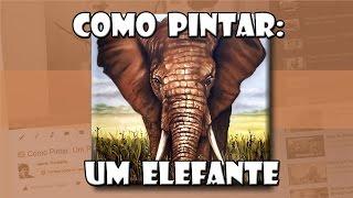 getlinkyoutube.com-Como Pintar: Um Elefante