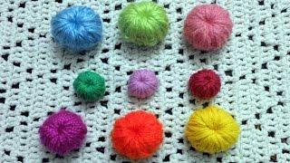 getlinkyoutube.com-Como tejer botones en tejido crochet tutorial paso a paso.