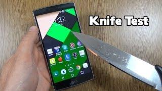 getlinkyoutube.com-LG G Flex 2 - Knife Scratch Test!