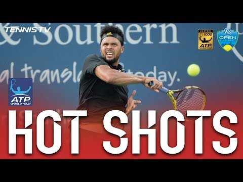 Tsonga`s Brilliant Pass Hot Shot Cincinnati 2017