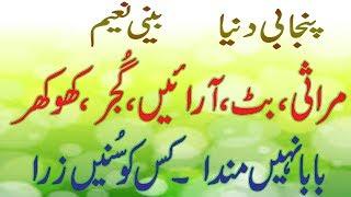 funny punjabi baba nhi manda baba telling different pakistani casts in funny way by BEENI NAEEM width=