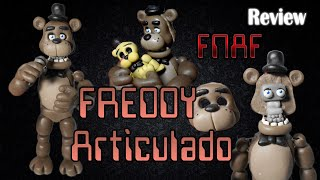 getlinkyoutube.com-Preview Freddy Fazbear en Porcelana Fría | Articulado | Five Nights At Freddy´s
