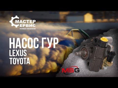 Насос ГУР Lexus Rx, Toyota Camry, Toyota Scepter TY003