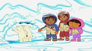 getlinkyoutube.com-Go Diego Go! Diegos Artic Rescue - New Full Game English 2015 Dora Friend Dora the Explorer