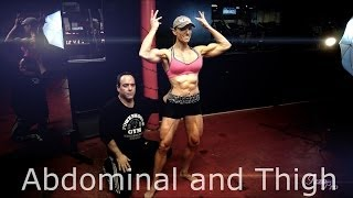 "getlinkyoutube.com-""Abdominal and Thigh"" Kenny Wallach and IFBB Pro Gloria Faulls"
