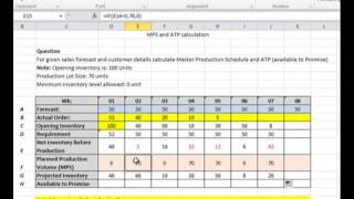 getlinkyoutube.com-Master Production Schedule and Available to Promise MPS & ATP