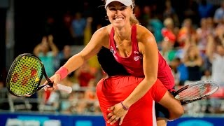 getlinkyoutube.com-Leander Paes & Martina Hingis 2013 Mixed Doubles Highlights