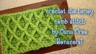 getlinkyoutube.com-Crochet the diamond stitch by Oana