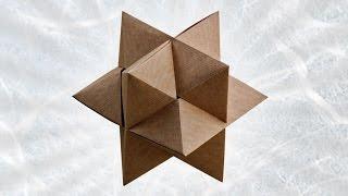 getlinkyoutube.com-Origami Burr Puzzle (Froy)