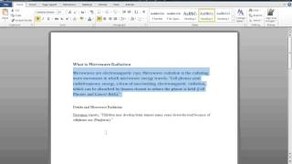 Convert a Word Document to Powerpoint