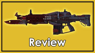 getlinkyoutube.com-Destiny: Exotic Weapon Review - Red Death, Pulse Rifle