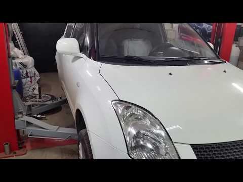 Suzuki Swift г 1,5 бензин. Замена заднего подшипника ступицы.