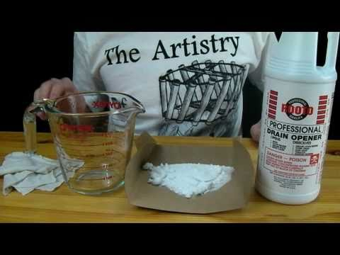How to Make Flash Paper - Magic Trick Fireballs (Nitrocellulose)