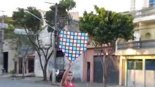 getlinkyoutube.com-Pipão DE 1 METRO  120 metros de rabiola SÓ OS LOKOS PIPAS