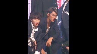 getlinkyoutube.com-[MPD직캠] 세븐틴 민규 직캠 만세 MANSAE Seventeen MinGyu Fancam @엠카운트다운_151001