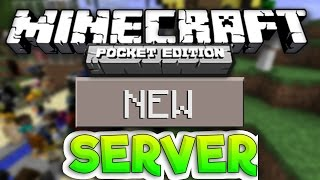 getlinkyoutube.com-MCPE BEST 1.0.0 SERVER EVER?! - NEW Minecraft PE Factions Server - IP | Minecraft Pocket Edition