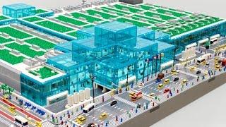 getlinkyoutube.com-Watch Sean build a 114,470 LEGO piece Javits Center [ Time lapse ]