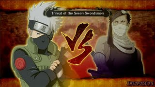 Naruto Ultimate Ninja Storm 3 Kakashi Vs Zabuza and Haku S-Rank HD (English)