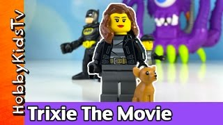 getlinkyoutube.com-HobbyTrixie The Movie! Imaginext Batman + Lego Play-Doh HobbyKidsTV