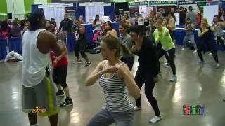 getlinkyoutube.com-2016 FitExpo in San Jose, CA - Billy Blanks Tae Bo Workout