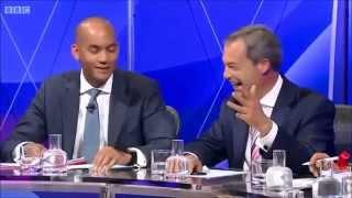 getlinkyoutube.com-UKIP Nigel Farage - Four against one, BBC Question time May 2014