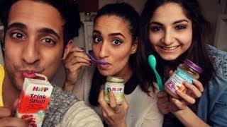 getlinkyoutube.com-BABY FOOD CHALLENGE mit Isipisi5 & HerrTutorial!!