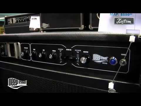Robert Egnacheski - 2009 NAMM - Kustom Amplification - Deep End Series