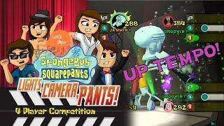 Battle Of The Band!   Part 4   Let's Play Spongebob: Lights, Camera, Pants! (Co Op)