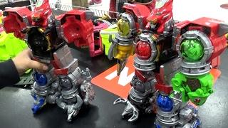 getlinkyoutube.com-宇宙戦隊キュウレンジャー おもちゃ DXキュウレンオーで遊んだよ♪