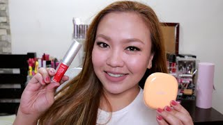 getlinkyoutube.com-Fashion 21 Perfect Stick and Two-Way Cake with Papaya Extract First Impression!