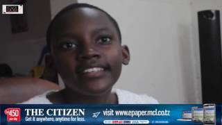 Justina Gerald, mwanafunzi bora wa kike darasa la saba width=