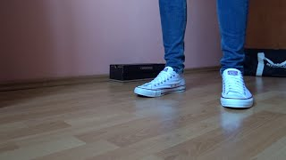 How to wear Converse with skinny jeans (2017) | presentation | how to lace | on feet